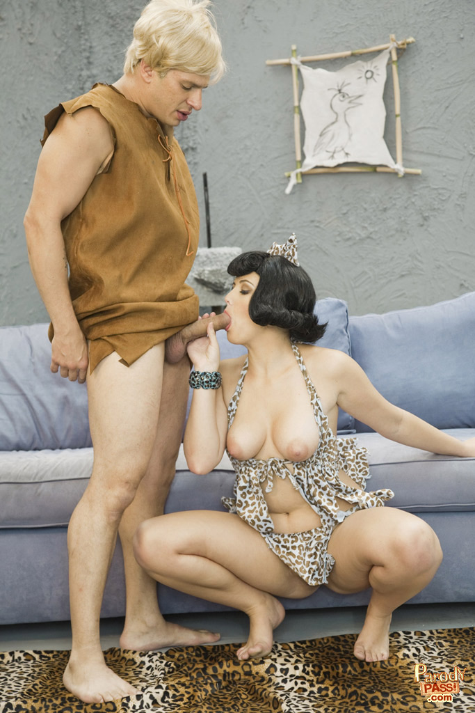 The Flintstones Porn Parodypebbles And Bam Get Busy